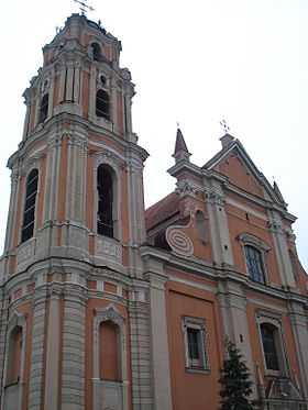 Image illustrative de l'article Église de Tous-les-Saints (Vilnius)