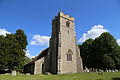 Church of St Christopher, Willingale, Essex, England - exterior from northwest.JPG
