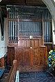 Church of St Mary the Virgin, Woodnesborough, Kent - church organ.jpg
