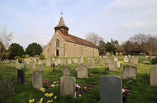 Upshire village in Essex, England