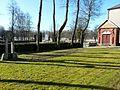 Churchyard of Skuodas catholic church.jpg