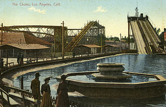 Chutes Park - Postcard, c.1906