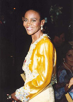 Photo of actress Cicely Tyson at the Emmy Awards.