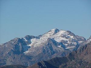 Fiemme Mountains - The Cima d'Asta, the highest peak of the range.