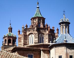 Cimborrio mudéjar de la Catedral de Teruel.