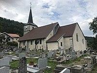 Cimetière et église à La Rixouse.JPG