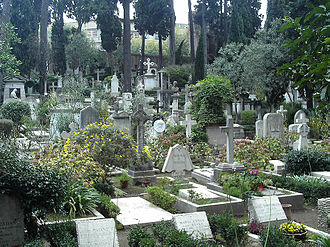 Protestant Cemetery, Rome - Image: Cimitero Acattolico Roma