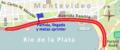 Circuito urbano en la avenida Rambla de Montevideo, entre Ejido y el Parque Rodó.png