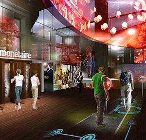 Cité de l'économie et de la monnaie - Boardroom of the future Cité de l'économie et de la monnaie, architectural and museographic contest, 2011