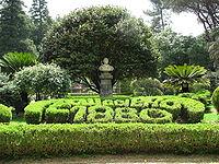 Cittanova - Villa comunale30-Ingresso Carlo Ruggiero.jpg