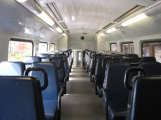 Sydney Trains C set - Image: City Rail C Set Interior 2