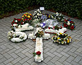City of London Cemetery and Crematorium - floral tribute 02.jpg