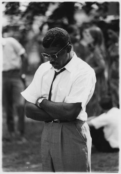 File:Civil Rights March on Washington, D.C. (A male marcher.) - NARA - 542038.tif