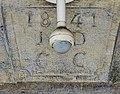 Clé de linteau, datée de 1841 à Lebetain.jpg
