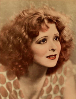 "Clara Bow American actress known as ""The ""It Girl""."