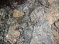 Clast-rich mixtite (Coleman Member, Gowganda Formation, Paleoproterozoic, ~2.3 Ga; Percival Lake roadcut, Ontario, Canada) 18 (46810724855).jpg