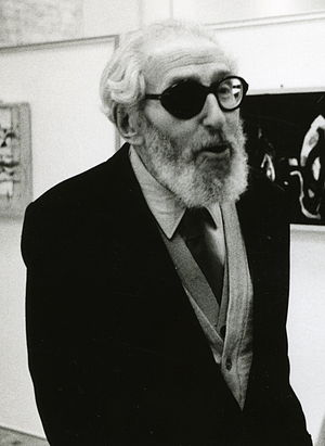 Claude Aveline - Claude Aveline in an exhibition opening in 1989.