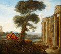 Claude Lorrain (imitator of) - Mercury and Argus - Google Art Project.jpg
