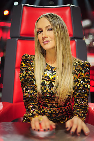 Claudia Leitte - Claudia Leitte as a mentor in The Voice Brasil (2012).