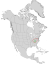 Clethra acuminata range map 0.png
