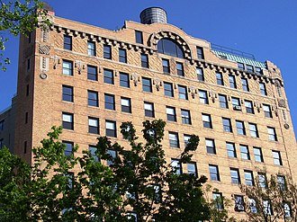 Herman Lee Meader - The Cliff Dwelling apartment building at 243 Riverside Drive, built in 1914