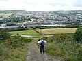 Climbing Hunshelf Bank - geograph.org.uk - 911757.jpg