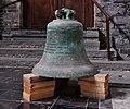 Cloche dans l'église Saint-Jacques de Tournai (DSCF8555).jpg