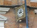 Clock at Bournemouth railway station.jpg
