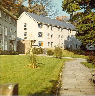 Clyne Castle - Clyne Castle men's hall blocks 1970