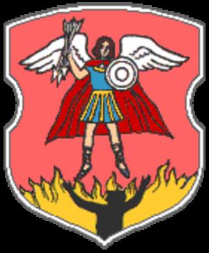 Rose (heraldic tincture) - Image: Coat of Arms of Pryvałka