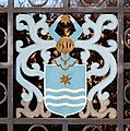 Coat of arms entrance gate Roskilde Priory 2015-03-30-4769.jpg
