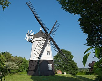 Chitty Chitty Bang Bang - Cobstone Windmill in 2018