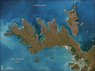 Croker Island island off the Northern Australian coast