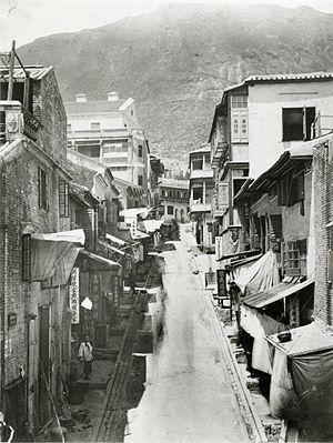 Cochrane Street - Cochrane Street in the 1870s