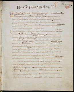 Letter of Jerome to Pope Damasus