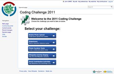 October 2011 Coding Challenge/Design - MediaWiki