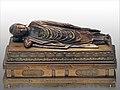 Coffret avec le Bouddha Shâkyamuni atteignant le Parinirvāṇa (Panthéon, Paris) (39823202933).jpg