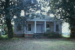 Battle of Champion Hill - The Coker House, a part of the battlefield