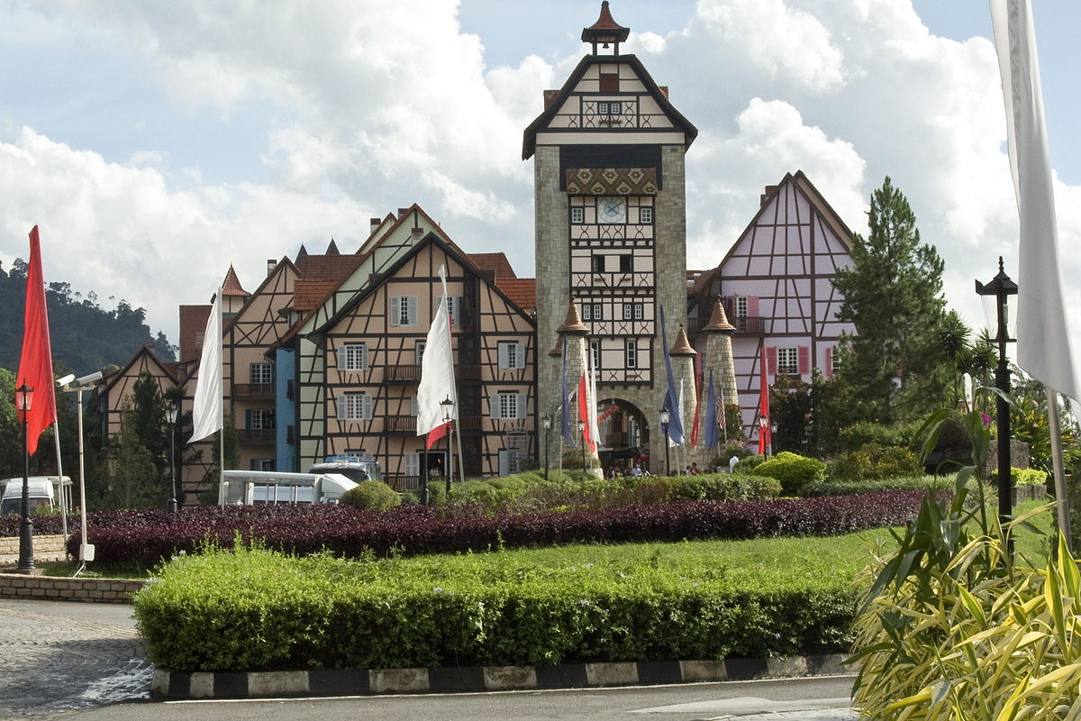 List of tourist attractions in pahang wikipedia for Colmar pictures