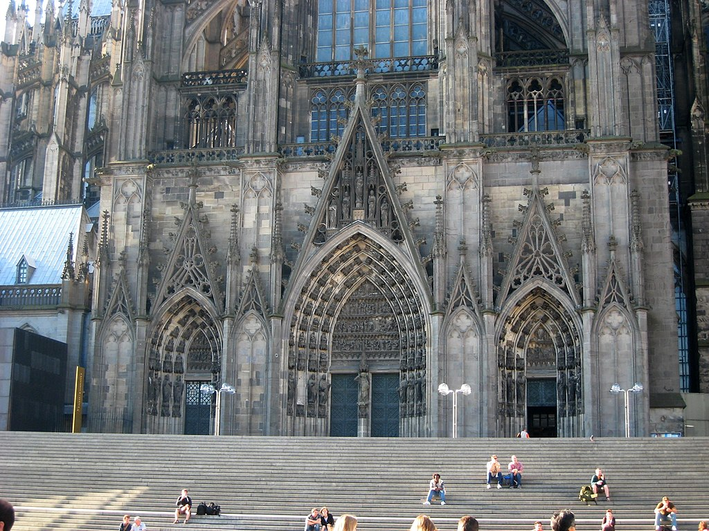 file cologne cathedral in cologne germany north entrance pnr 0230 jpg wikimedia commons. Black Bedroom Furniture Sets. Home Design Ideas