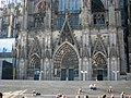 Cologne Cathedral in Cologne, Germany-north entrance PNr°0230.JPG