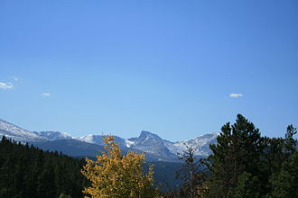 Peak to Peak Highway - Image: Colorado Peak to Peak Highway 1