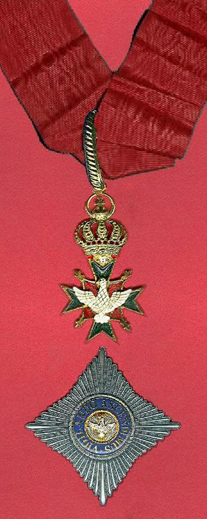 Order of the White Falcon - Image: Commandeur in de Orde van de Witte Valk