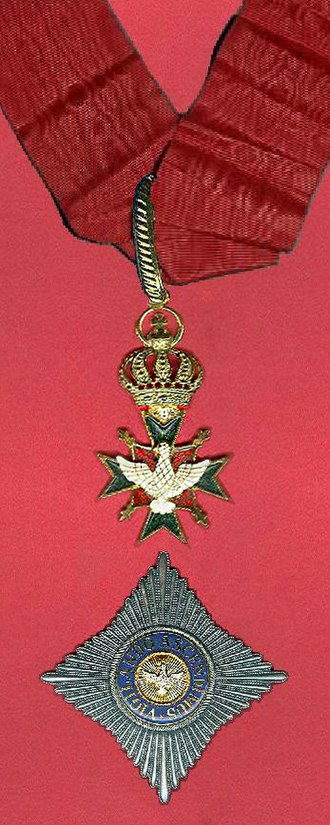 Order of the White Falcon - Commander of the Order of the White Falcon