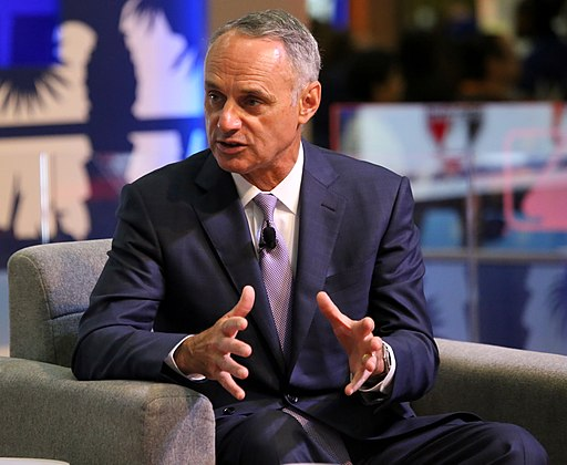 Commissioner Rob Manfred conducts his annual -ASG Town Hall at -FanFest (28388738346)