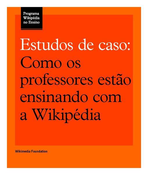 File:Como os professores estão ensinando com a Wikipédia.pdf