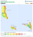 Comoros DNI Solar-resource-map GlobalSolarAtlas World-Bank-Esmap-Solargis.png
