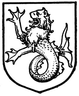 Sea-lion heraldic animal