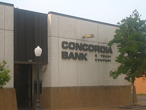 Sam Hanna - Sam Hanna, Sr., was a member of the board of directors of the large Concordia Bank and Trust Company in Vidalia, Ferriday, and other locations.