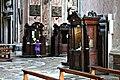 Confessionals - Beichtstühle - Gesu Nuovo - Neapel - Naples.JPG